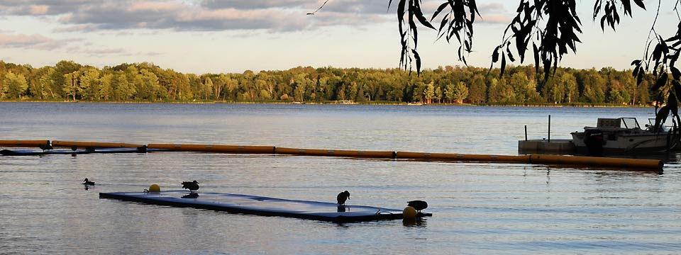 lake chippewa campground views
