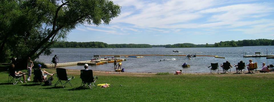 Lake Chippewa Campground Lakeshore Camping In Hayward Wisconsin